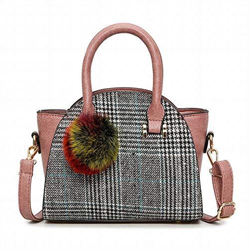 creativo rosa della di le della diagonale stile per Borsa capelli multifunzionale Borsa della gattino spalla palla modo di marrone dei di borsa con la borsa della sveglio controllo donne tqqwn0Xp