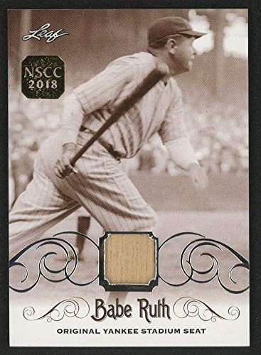 Babe Ruth 2016 Leaf #ys-34 Original Yankee Stadium Game Used Seat Trading Card - Game Used MLB Stadium Equipment ()