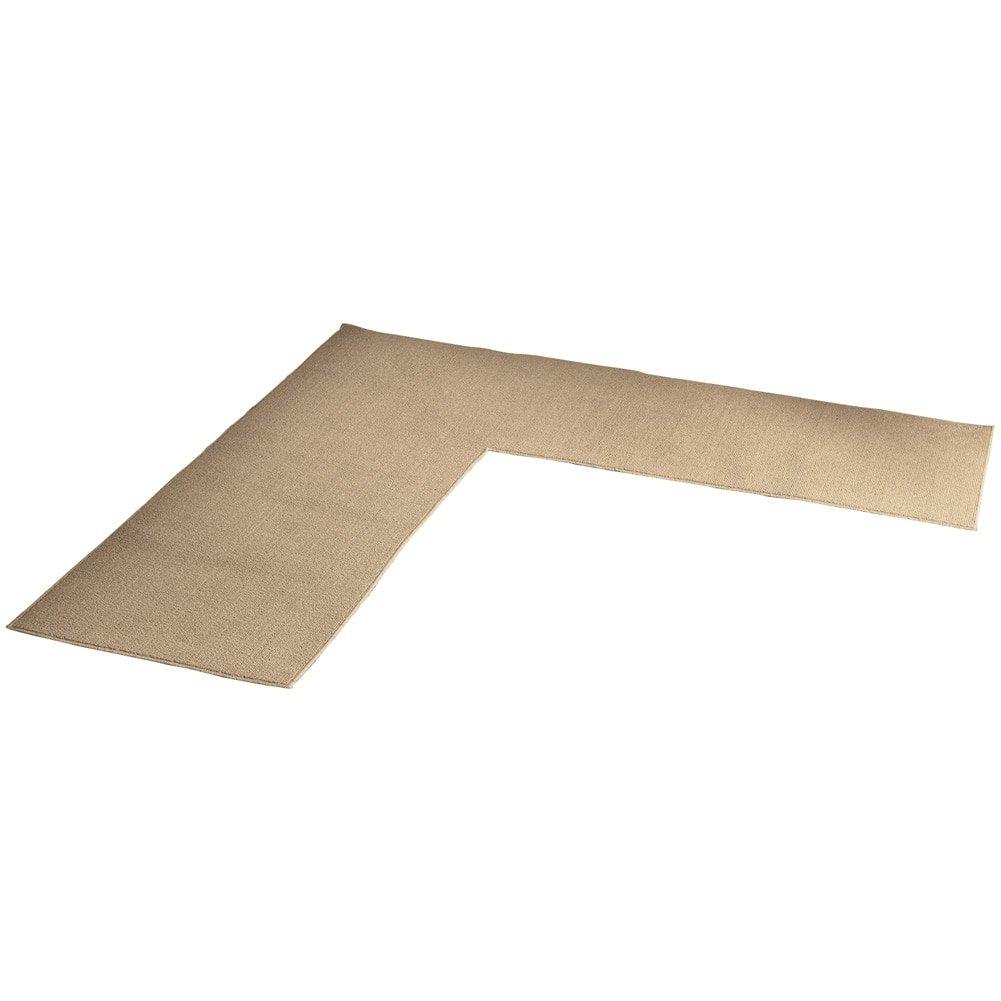 Amazon.com: L Shaped Berber Corner Skid-Resistant Floor Hallway ...