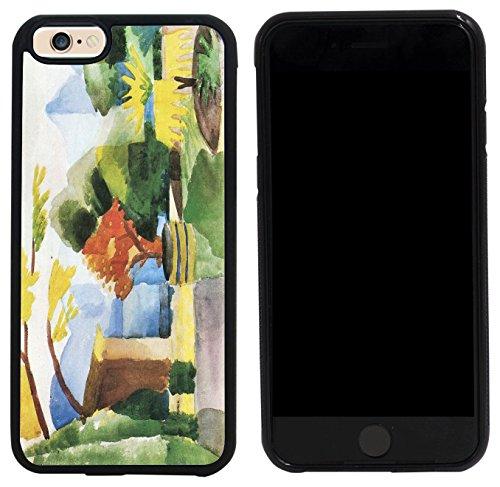 Rikki Knight Case Cover for iPhone 6/6s - August Macke Art Garden in Hilterfingen (Macke Garden)