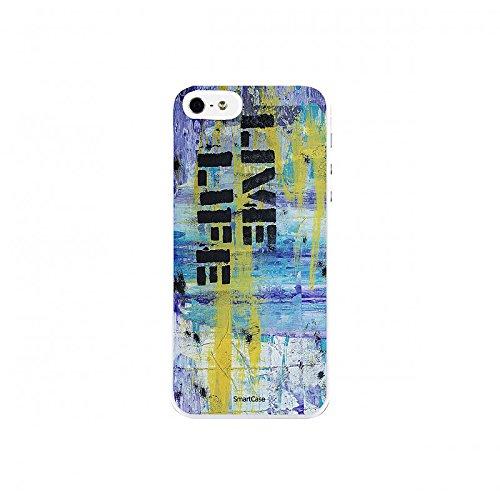 Coque + Verre Trempé pour iPhone 5/5S/SE SmartCase® STREET ART 5