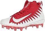 NIKE Alpha Menace Pro Mid Men's Football Cleats 871451 611 University Red/White - White (11)