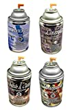 Automatic Spray Air Freshener Refills, Assorted Pack 1, 7oz can (4 fragrances)