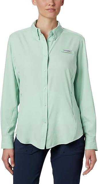 Columbia Womens Plus Tamiami Ii Short Sleeve Shirt Iceberg 2X