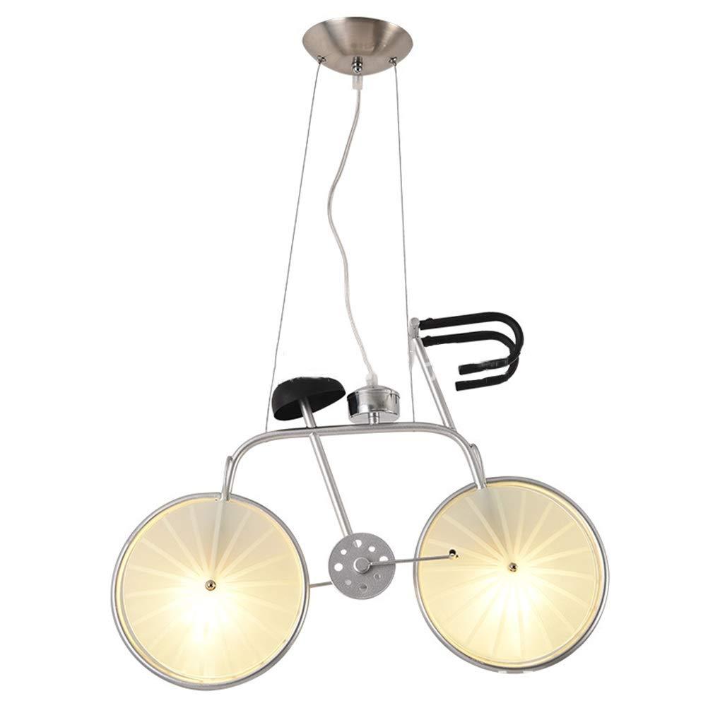 天井照明シャンデリア ペンダントライト現代のシャンデリア工業用シーリングライトクリエイティブアメリカンフィクスチャレストラン研究吊りランプ56センチ 屋内照明   B07TNPCFXR