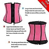 BRABIC Women's Neoprene Zipper & Buckle Underbust