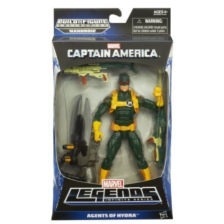 Captain America Marvel Legends Agents of Hydra Action Figure Hydra Soldier 6 Inches (Hydra Marvel Legends compare prices)