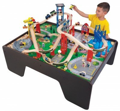 KidKraft Super Expressway Train Set & Table
