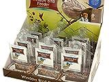 Window Bird Feeder Thermometer Countertop Display - Pack of 60