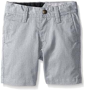 Volcom Little Boys Frickin Chino Short, Grey, 2T