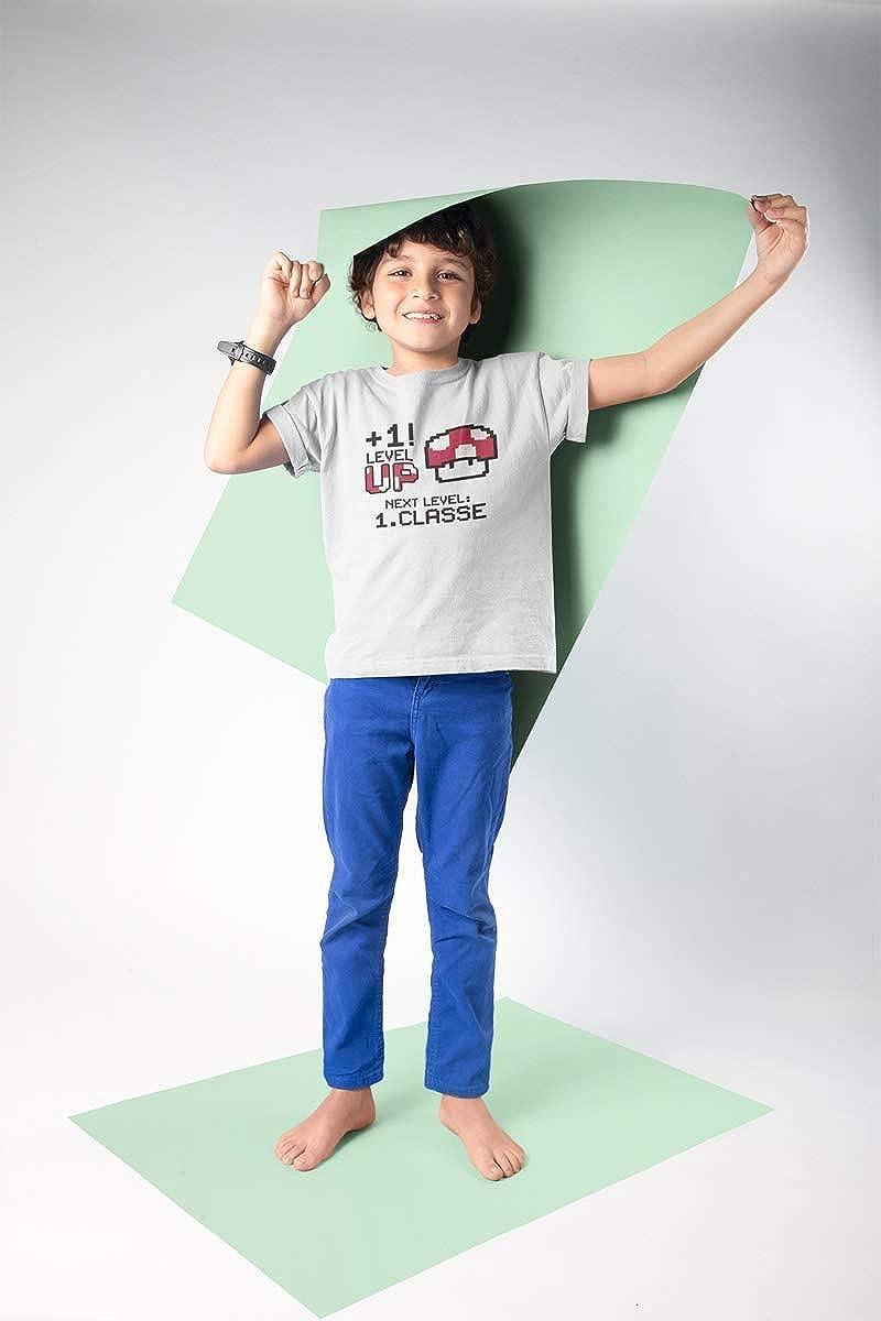 Next Level T-Shirt Bambina Super Scuola Mario Bros Vado alle Elementari