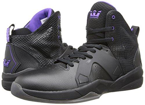 Supra ferrocarril trainers - Negro/ Purple -  - Colour negro