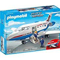 PLAYMOBIL® Passenger Plane Building Set
