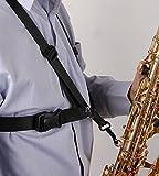 #6: Saxophone Strap, Aibay Adjustable Alto/tenor/baritone Sax Saxophone Harness Shoulder Strap