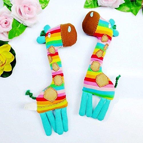 toddler soft stuffed plush rainbow