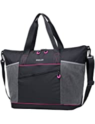 Gym Bag for Women- Gym Tote Bag- Tote Bag with Roomy Pockets for Beach, Sports,Shopping,Working