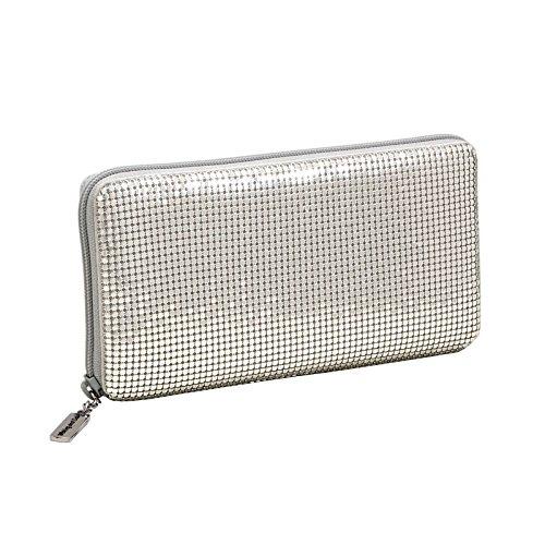 whiting-davis-zip-around-wallet