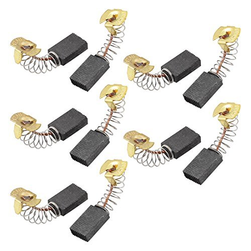 5pairs de 17 mm x 11 mm x 5 mm el/éctricos motor de resorte escobillas de carb/ón