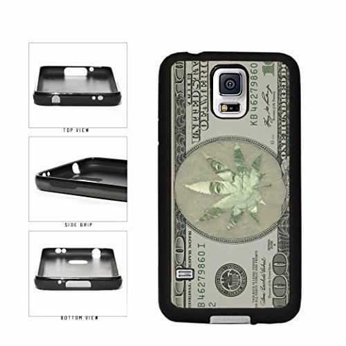 Funny Money Marijuana Weed Leaf TPU RUBBER Phone Case Back Cover Samsung Galaxy S5 I9600