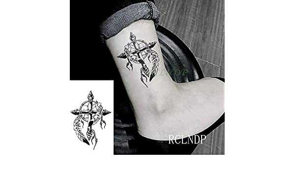 ljmljm 5 Piezas Impermeable Tatuaje Pegatina montaña Bombilla ...
