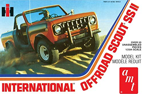 International Off Road Scout SS II Truck 1/25 AMT