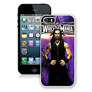 Fashionable WWE roman reigns iPhone 5 5s 5th Generation Case in White