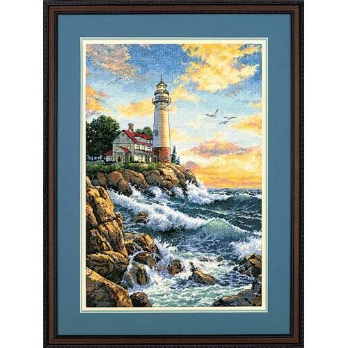 Dimensions Needlecrafts Counted Cross Stitch, Rocky Point ()