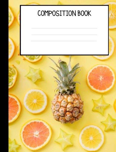 Download Pineapple &  Citrus Fruit Composition Notebook pdf