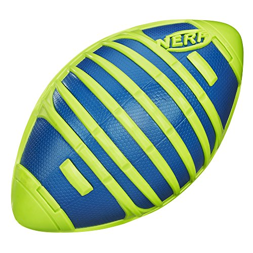 Nerf Sports Weather Blitz Football Toy  Green