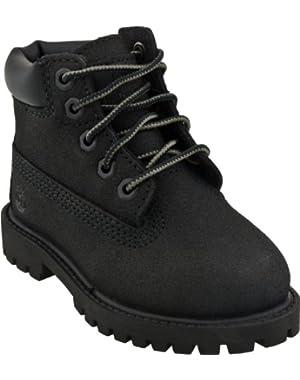 Unisex Kids Boots 34875 6 In Prem Black Scuff Prf
