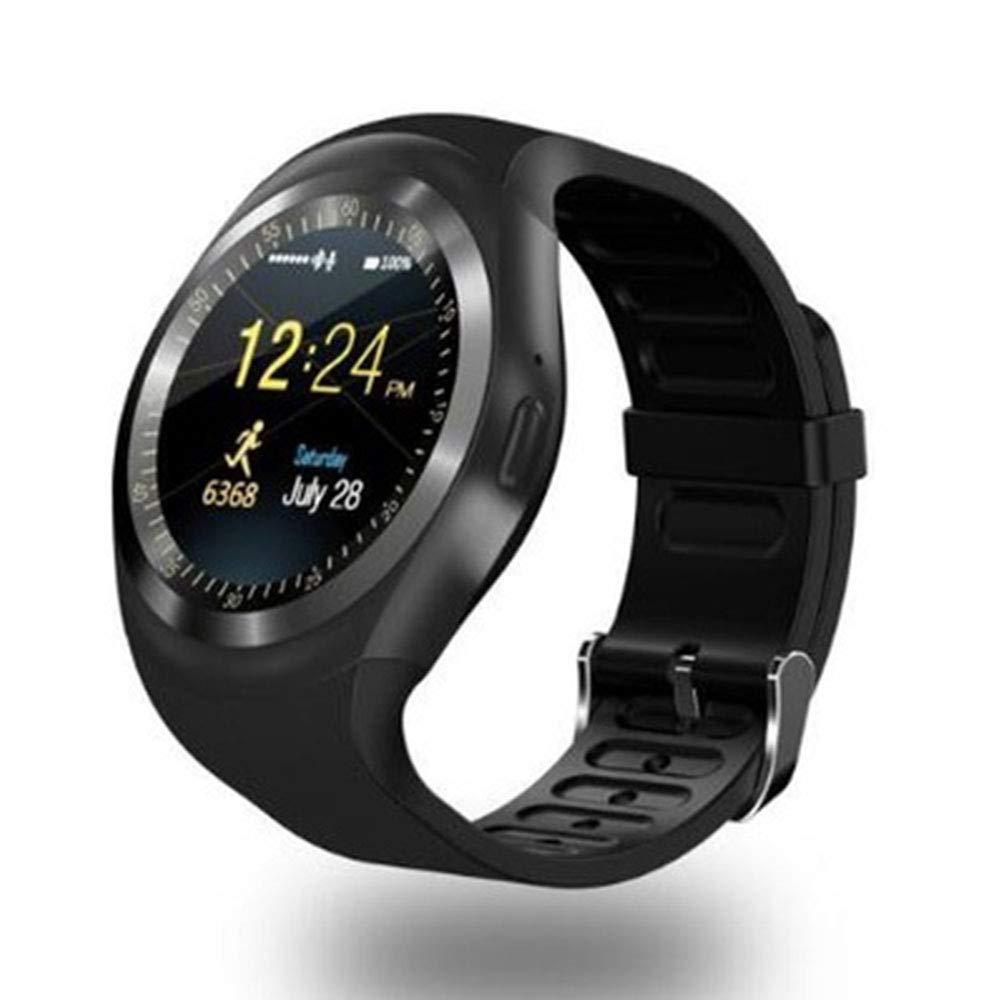 Amazon.com: XWU 1.54inch Y1plus Blue-Tooth Smartwatch ...