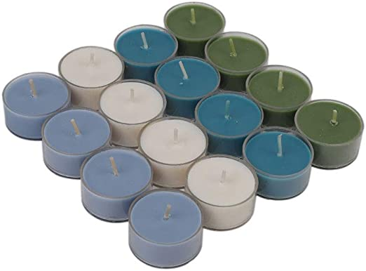100 Pack Soy Tealights HIGHLY SCENTED U Pick Scents!
