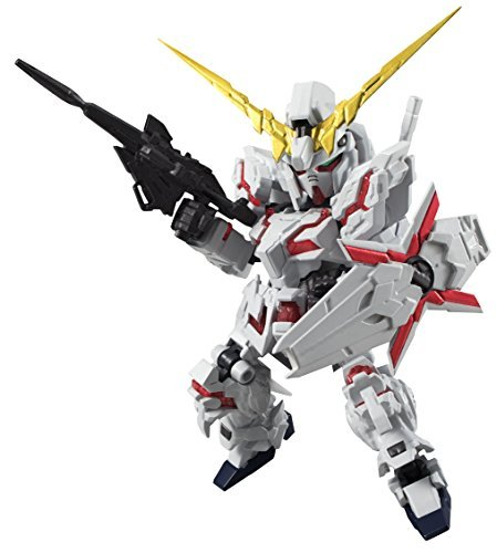 NXEDGE STYLE next-edge style Mobile Suit Gundam UC [MS UNIT] Unicorn Gundam (Destroy Mode) about 100mm ABS & PVC painted action figure