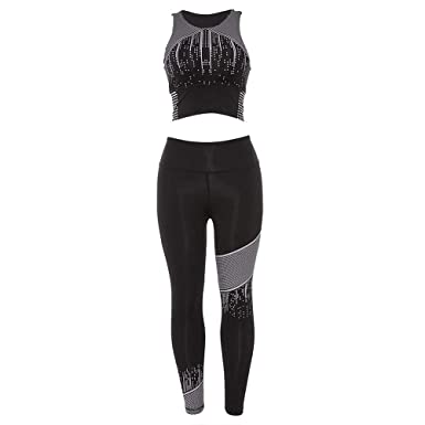 Set De Culturismo Yoga para Mujer Mode De Marca Deporte Slim Fit ...
