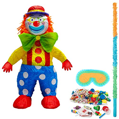BirthdayExpress Clown Pinata -