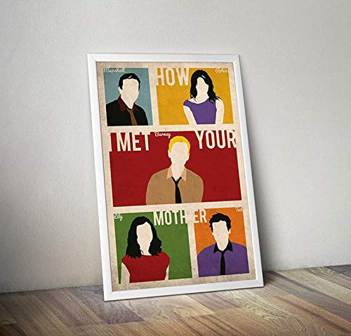 MugKD LLC How I Met Your Mother Poster Alternative Poster TV Show Poster Barney Marshall Lily Robin Ted HIMYM Manhattan Poster New York Poster [No Framed] Poster Home Art Wall Posters (24x36)]()