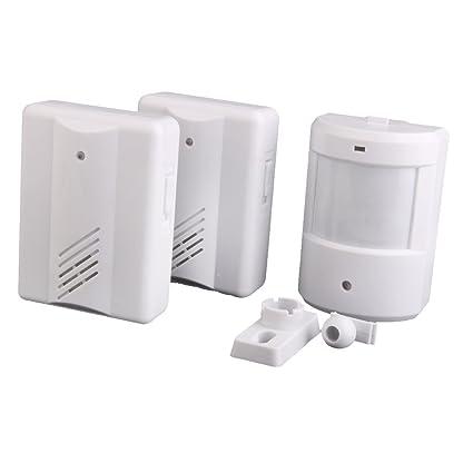 Buy Imported 2in1 Entry Door Alarm Chime Doorbell Wireless Ir