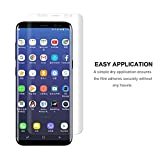 (2 Pack)Galaxy S8 Plus Screen Protection film, iTURBOS full screen coverage 3D PET screen protection film for Samsung Galaxy S8 Plus
