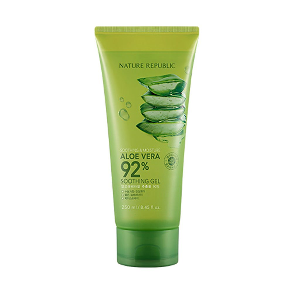 NATURE REPUBLIC Soothing and Moisture Aloe Vera 92 Percent Soothing Gel(tube)