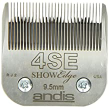 Andis 65590 3/8-Inch, 9.5mm Pet No.4SE Blade Set