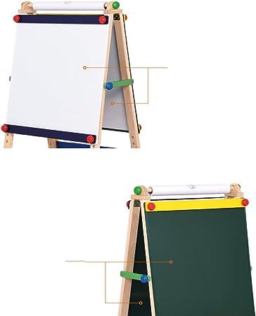 NYDZDM Tablero de Dibujo para niños Soporte de Pizarra pequeño magnético Tablero de Escritura de enseñanza Tablero de Graffiti de Dibujo Puede ser Elevado y bajado: Amazon.es: Hogar