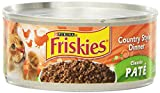 Purina Friskies Pate Country Style Dinner Cat Food - (24) 5.5 oz. Pull-top Can