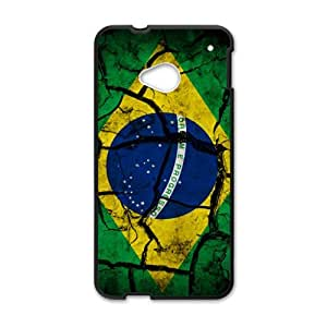Flag of Brazil Phone Case for HTC One M7