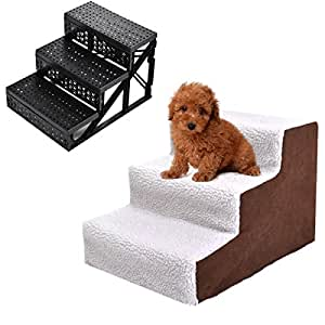 Amazon.com : Pet Stairs Dog Steps Indoor Ramp Portable