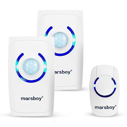 [4 en 1 multifunción] Marsboy Digital Portátil/sistema de alarma de seguridad de