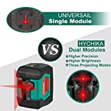 Laser Level, HYCHIKA 50 Feet Line Laser with Dual