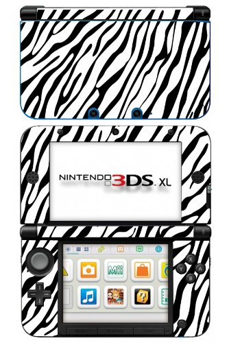 Zebra Print Pattern Skin for Nintendo 3DS XL Console for sale  Delivered anywhere in USA