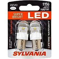 SYLVANIA ZEVO 1156 White LED Bulb, (Contains 2 Bulbs)