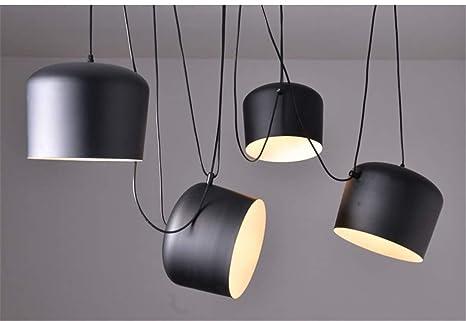 Plafoniere Con Lampadina A Vista : Pendente lampadari plafoniera luce aim replica drum pendant light