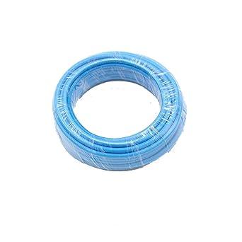 Reachyea - Cable de estilo vintage para lámpara de techo colgante - 3 mx 0,75 mm², azul